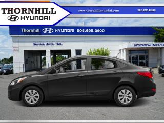 Used 2015 Hyundai Accent GLS  - Sunroof -  Bluetooth for sale in Thornhill, ON