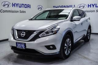 Used 2015 Nissan Murano SL  - Sunroof -  Navigation for sale in Thornhill, ON