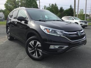 Used 2015 Honda CR-V TOURING TOIT GPS CUIR for sale in St-Malachie, QC