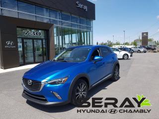 Used 2016 Mazda CX-3 Gt, Mags, A/c for sale in Chambly, QC