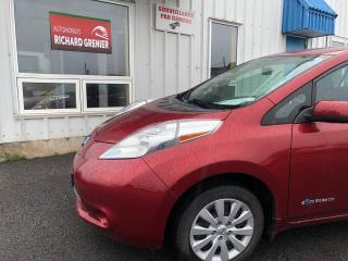 Used 2015 Nissan Leaf S+ for sale in Beauport, QC