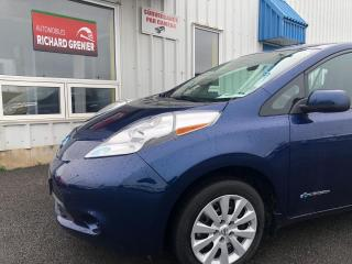 Used 2016 Nissan Leaf S+ for sale in Beauport, QC