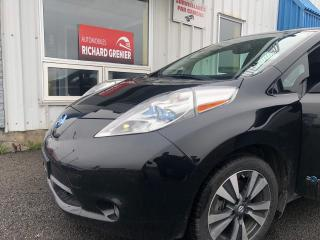 Used 2016 Nissan Leaf SL for sale in Beauport, QC