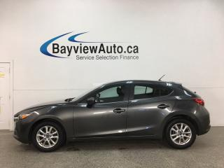 Used 2018 Mazda MAZDA3 GS - HEATED SEATS! PUSH START! A/C! CRUISE! ALLOYS! + MORE! for sale in Belleville, ON