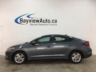 Used 2019 Hyundai Elantra Preferred - AUTO! SUNROOF! HTD SEATS! BLINDSPOT ALERT! ALLOYS! + MORE! for sale in Belleville, ON