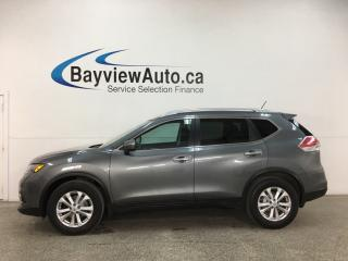 Used 2015 Nissan Rogue SV - PANOROOF! ALLOYS! FULL PWR GROUP! 50,000KMS! for sale in Belleville, ON