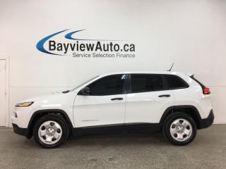 Used 2015 Jeep Cherokee Sport - REMOTE START! STOP/START ENGINE! HTD SEATS! REVERSE CAM! + MORE! for sale in Belleville, ON