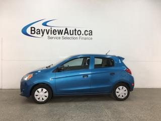 Used 2015 Mitsubishi Mirage ES - 20,000KMS! MINT! AUTO! A/C! PWR GROUP! for sale in Belleville, ON