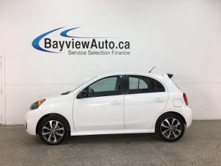 Used 2015 Nissan Micra SR - AUTO! A/C! PWR GROUP! ALLOYS! BLUETOOTH! for sale in Belleville, ON