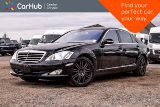 Used 2008 Mercedes-Benz S-Class 5.5L 4Matic|Navi|Pano sunroof|Bluetooth|Leather|Heated Seats|19