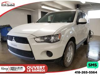 Used 2012 Mitsubishi Outlander Es Awd Sièges Ch for sale in Québec, QC