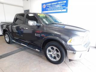 Used 2017 RAM 1500 Laramie 4X4 *ECODIESEL* LEATHER NAV SUNROOF for sale in Listowel, ON