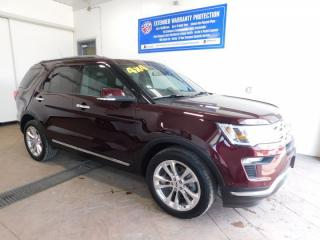Used 2018 Ford Explorer Limited LEATHER NAVI SUNROOF for sale in Listowel, ON