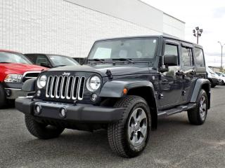 Used 2016 Jeep Wrangler UNLIMITED SAHARA *2 TOITS*GPS* for sale in Brossard, QC