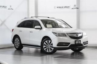 Used 2016 Acura MDX Tech for sale in Langley, BC