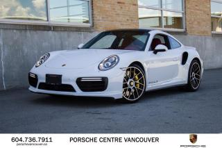 Used 2017 Porsche 911 Turbo S Coupe PDK | PORSCHE CERTIFIED for sale in Vancouver, BC
