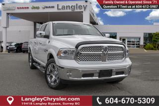Used 2018 RAM 1500 Laramie - Leather Seats -  Cooled Seats for sale in Surrey, BC
