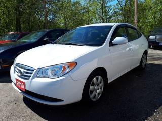 Used 2010 Hyundai Elantra GL Certified. for sale in Oshawa, ON