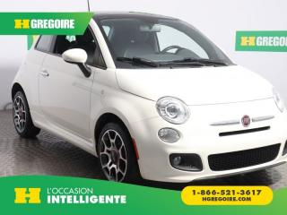 Used 2012 Fiat 500 SPORT A/C CUIR for sale in St-Léonard, QC
