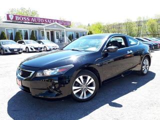 Used 2010 Honda Accord Cpe EX-L for sale in Oshawa, ON