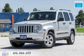 Used 2010 Jeep Liberty Sport 4WD Certified Serviced Alloys Bluetooth Nice for sale in Bolton, ON