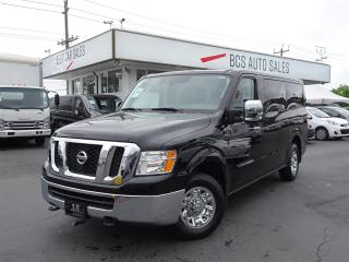 Used 2017 Nissan NV 3500 Only 7560 kms, Navigation, 12 Passenger for sale in Vancouver, BC
