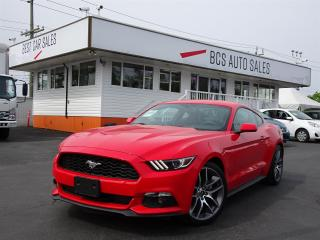 Used 2017 Ford Mustang Only 28960 Kms, No Accidents, Navigation, Leather for sale in Vancouver, BC