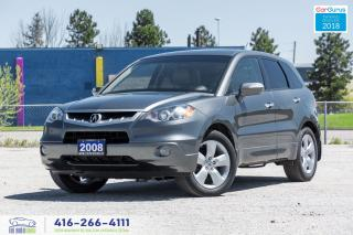 Used 2008 Acura RDX 93K CleanCarfax Certified Serviced Spotless for sale in Bolton, ON