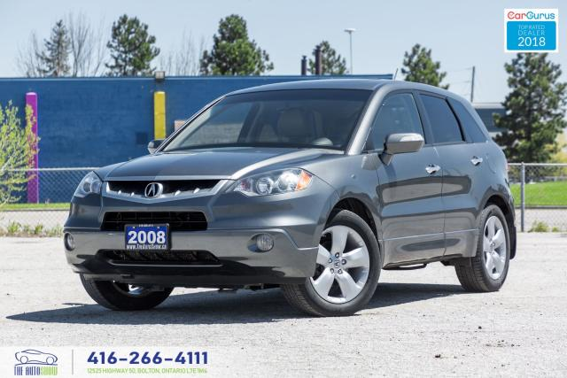 2008 Acura RDX 93K CleanCarfax Certified Serviced Spotless