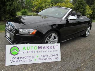 Used 2012 Audi S5 S5, QUATTRO, INSP, BCAA MBSHP, WARR, FINANCING for sale in Surrey, BC