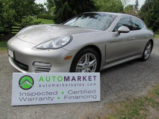Used 2011 Porsche Panamera 4S, LOCAL, INSP, BCAA MBSHP, WARR, FINANCE for sale in Surrey, BC