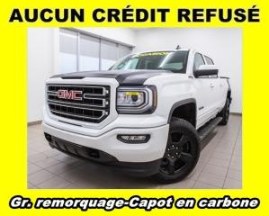 Used 2017 GMC Sierra 1500 ELEVATION MAGS 20 PO NOIR GR. REMORQ *CARBON HOOD* for sale in Mirabel, QC