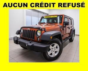 Used 2014 Jeep Wrangler Sport Awd V6 for sale in Mirabel, QC