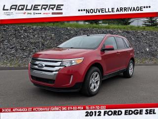 Used 2012 Ford Edge SEL for sale in Victoriaville, QC
