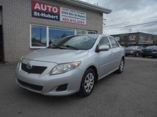 Used 2009 Toyota Corolla CE ** AUTO - A/C ** for sale in St-Hubert, QC