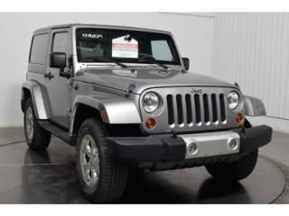 Used 2013 Jeep Wrangler Sahara 2 Portes 4x4 for sale in L'ile-perrot, QC