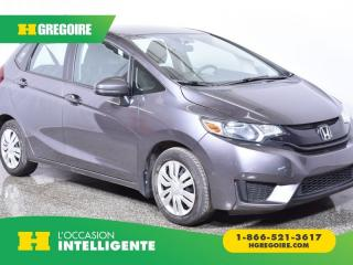 Used 2015 Honda Fit LX for sale in St-Léonard, QC