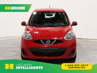Used 2015 Nissan Micra SV AC GR ELECT for sale in St-Léonard, QC