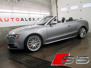 Used 2015 Audi S5 Cabriolet Awd for sale in St-Eustache, QC