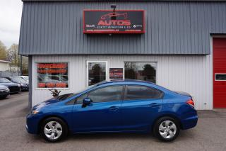 Used 2014 Honda Civic Lx 5 Vit. Sièges Ch for sale in Lévis, QC