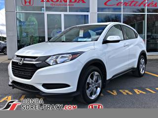 Used 2017 Honda HR-V LX 4 portes 2RM manuel for sale in Sorel-Tracy, QC