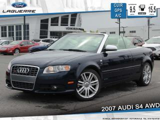 Used 2007 Audi S4 Awd Cuir Gps A/c 2 for sale in Victoriaville, QC
