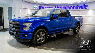 Used 2015 Ford F-150 LARIAT + CREWCAB + GARANTIE + SPORT + WO for sale in Drummondville, QC