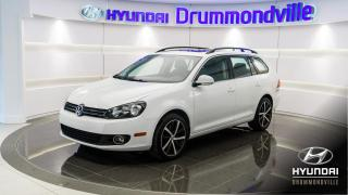Used 2014 Volkswagen Golf Wagon TDI + HIGHLINE +  NAVI + TOIT PANO + MA for sale in Drummondville, QC