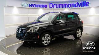 Used 2011 Volkswagen Tiguan CONFORTLINE + 4MOTION + GARANTIE + TOIT for sale in Drummondville, QC