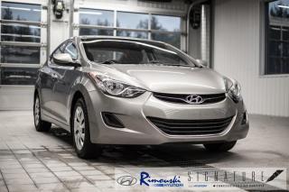 Used 2011 Hyundai Elantra GL chez Rimouski Hyundai for sale in Rimouski, QC