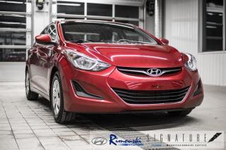 Used 2016 Hyundai Elantra L-4p chez Rimouski Hyundai for sale in Rimouski, QC