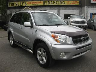 Used 2004 Toyota RAV4 2.4L 4cyl 4WD Auto Sunroof AC Cruise PM PW PL for sale in Ottawa, ON