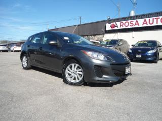 Used 2013 Mazda MAZDA3 AUTO HATCH ALLOY NO CLAIMS PL PW PM NEW TIRES for sale in Oakville, ON