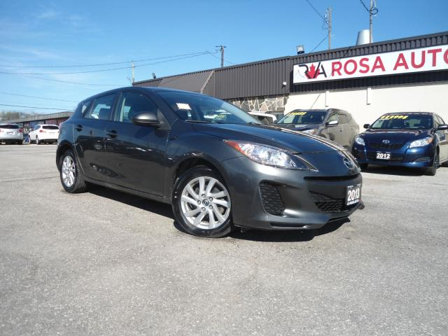 2013 Mazda MAZDA3 AUTO HATCH ALLOY NO CLAIMS PL PW PM NEW TIRES